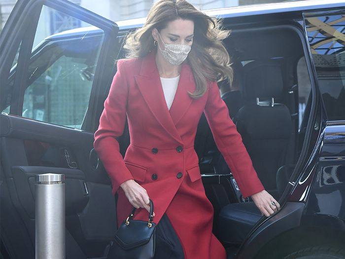 Kate Middleton's New Coat Shows That Colour Isn't Just For Summer