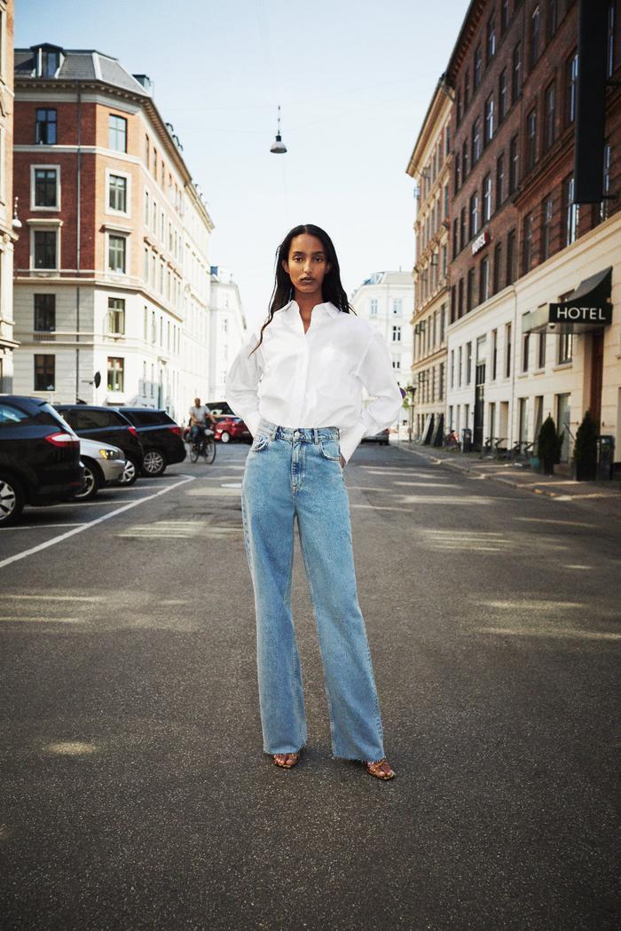 Zara '90s Full Length Jeans
