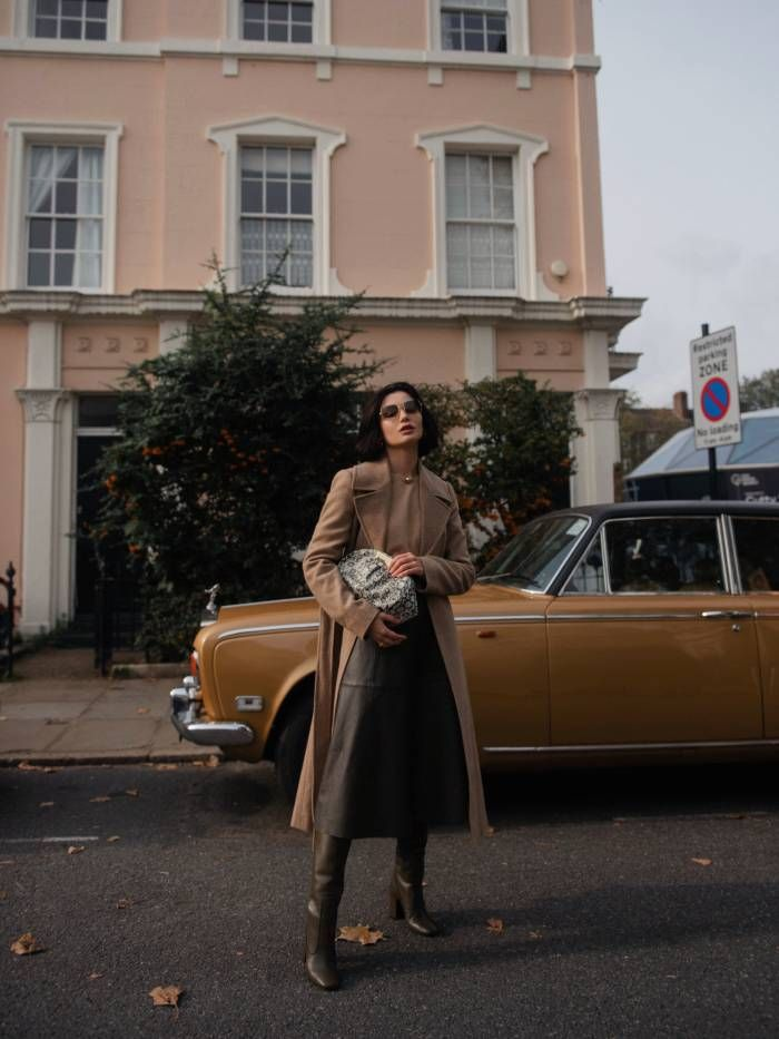 Lolita Mas wears French Connection AW20