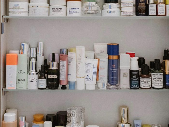 Clean beauty products.