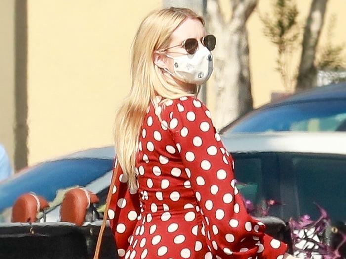 Emma Roberts's $70 Zara Find Is the Perfect Fall Dress