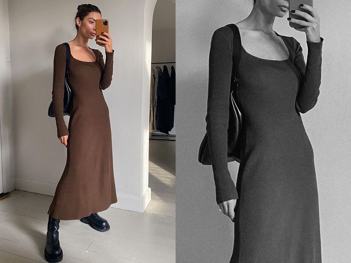13 Fall Dresses to Wear With 2020's Biggest Shoe Trend