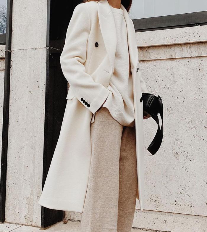 Cashmere loungewear: tracksuit bottoms