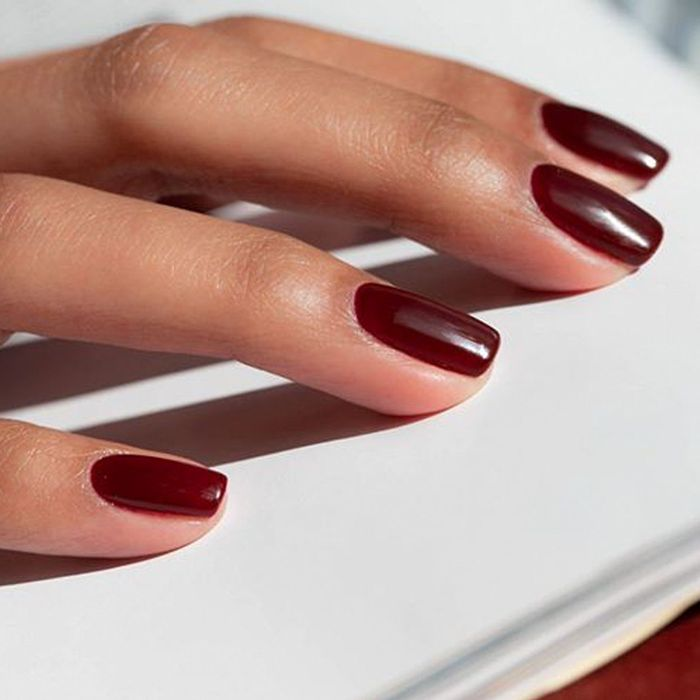 Autumn Winter Nail Polish Colours: Oxblood is popular at Dryby