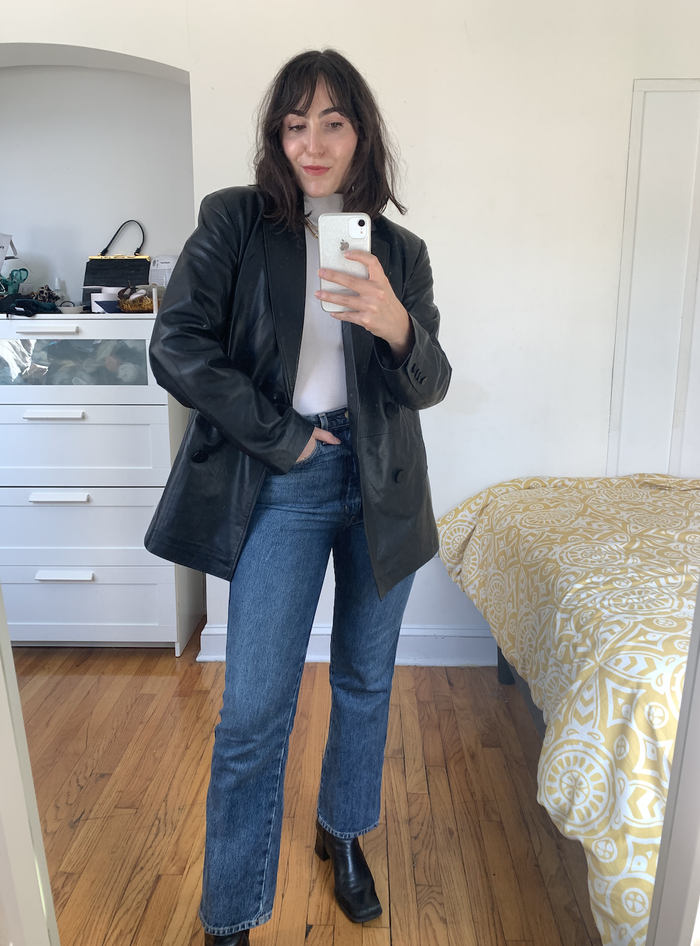 Easy winter outfit idea