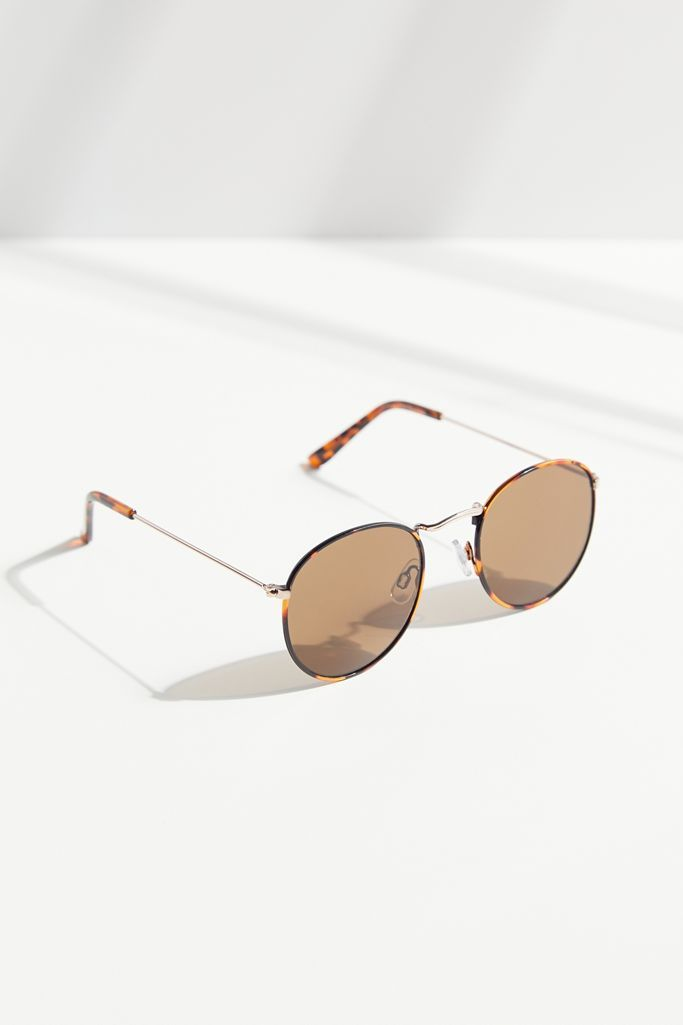 Urban Outfitters Billie Metal Round Sunglasses
