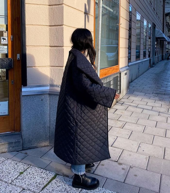 Toteme Quilted Annecy Coat