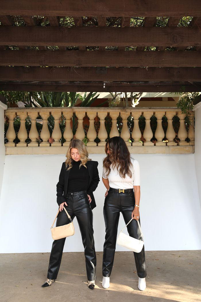 The items California girls love: faux-leather pants
