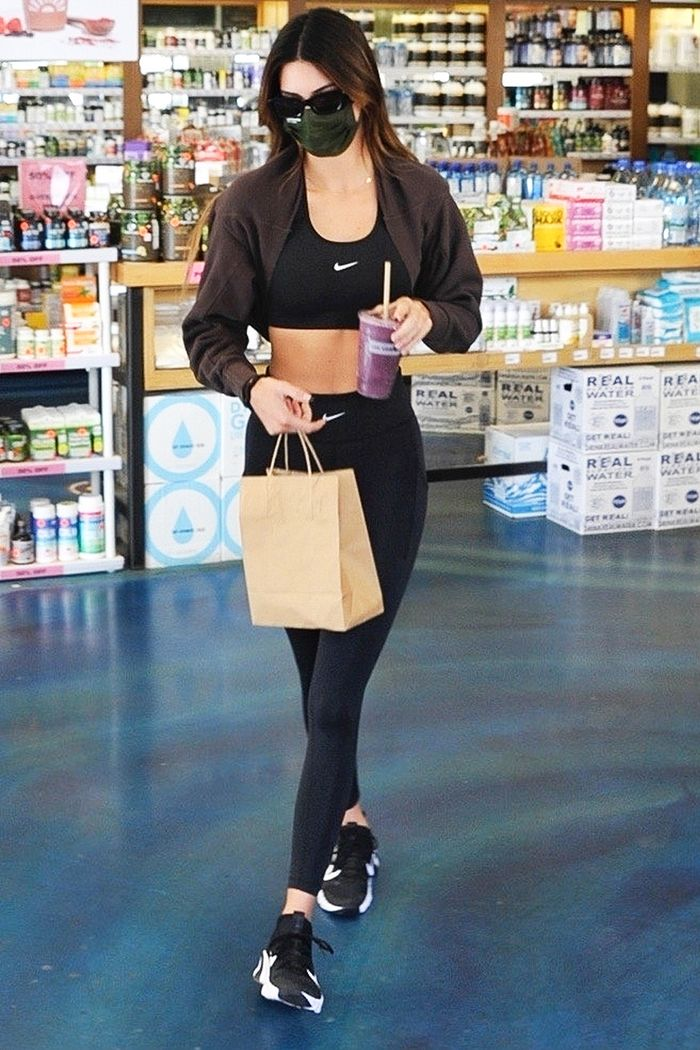 Kendall Jenner legging outfit