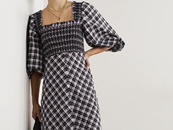 Ganni's Trending Summer Dress Just Got a Winter Update
