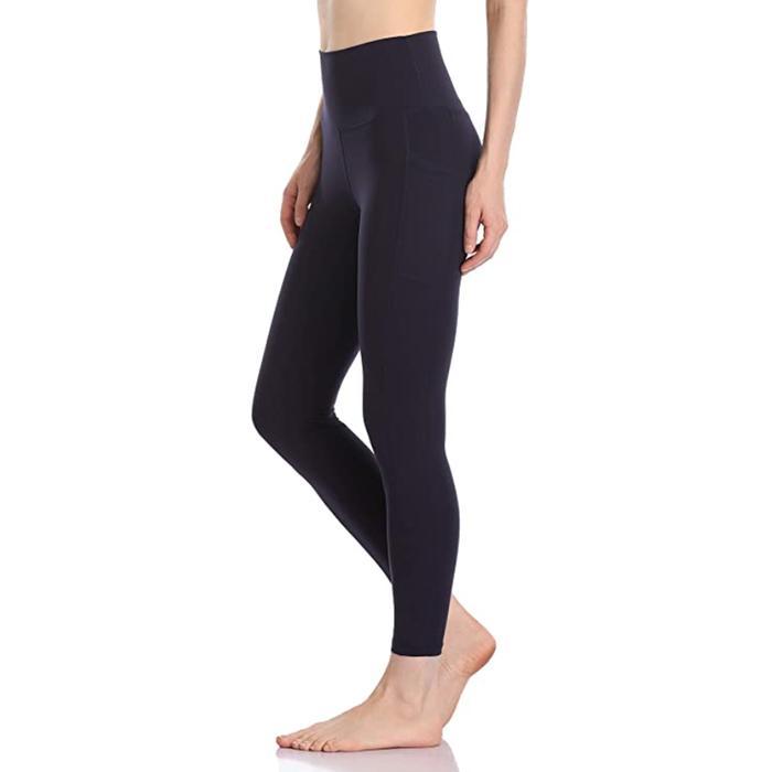 Colorfulkoala High Waisted Yoga Pants 7/8 Length Leggings With Pockets