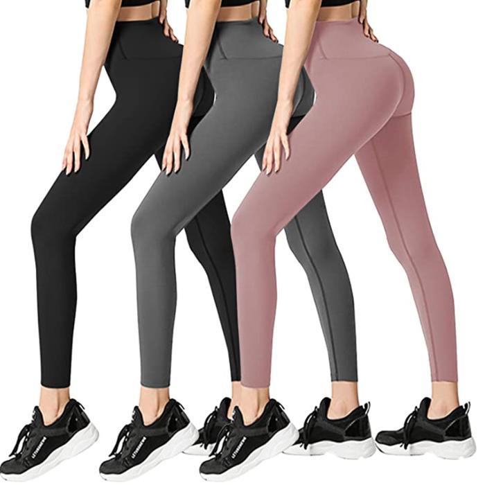 Fullsoft 3 Pack Womens Leggings