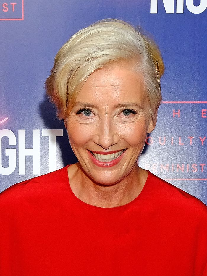 Haircuts for Women in Their 50s: Emma Thompson