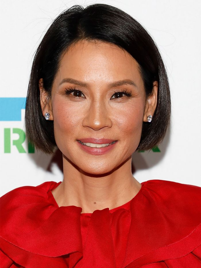 Haircuts for Women in Their 50s: Lucy Liu