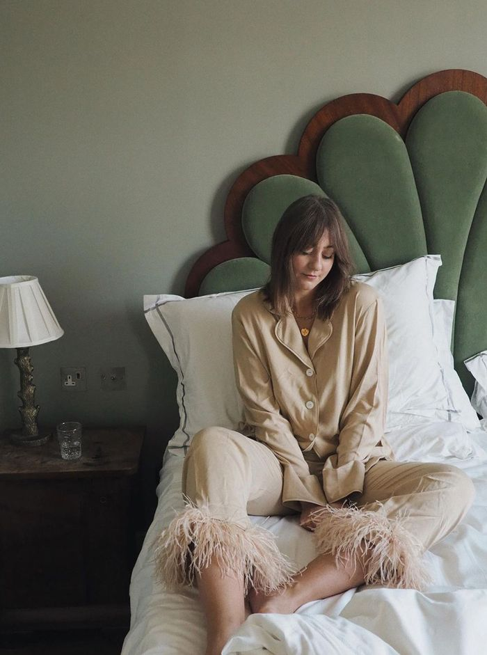 Best pyjama brands: Sleeper feather pyjamas