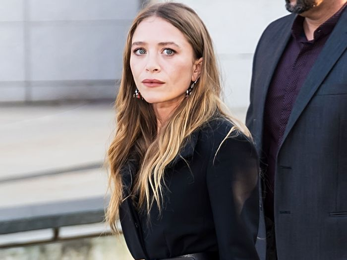 Mary-Kate Olsen wore a popular boot trend