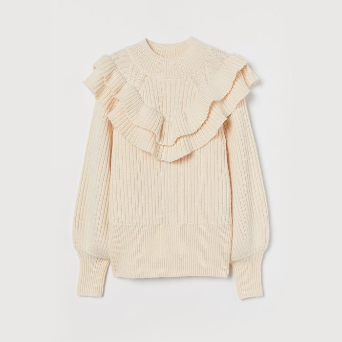 H&M Ruffle Sweater