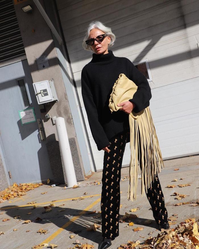 Hair Trends 2021: @greceghanem's grey hair is sublime