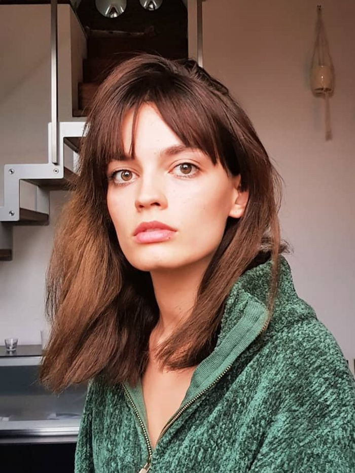 These Curtain Fringe Hairstyles Are Worth Saving Down Who What Wear Uk