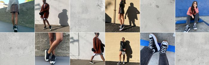 4 Sneaker Outfits We Can't Help But Wear Over and Over