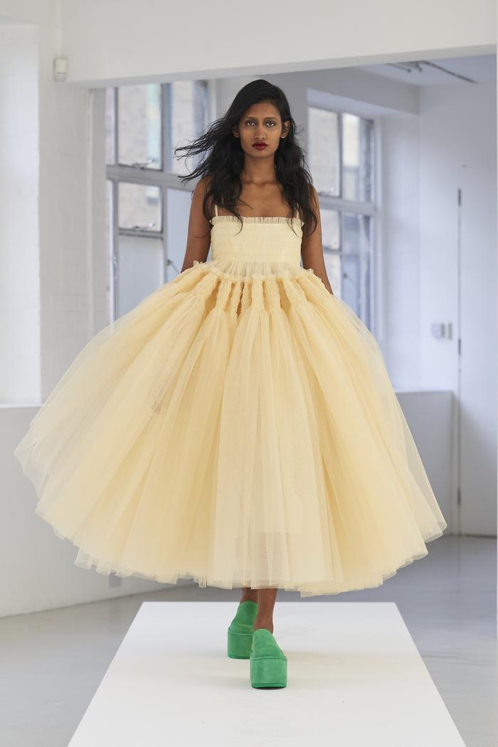 Dress Trends 2021: Molly Goddard showcases tulle dresses for SS21