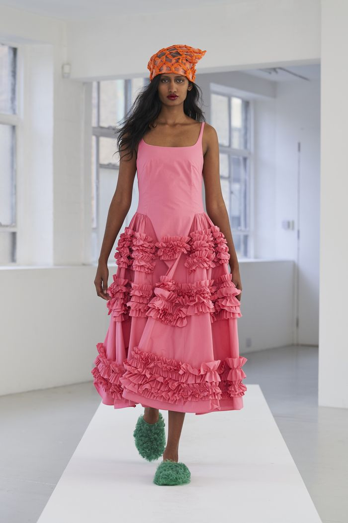 Dress Trends 2021: Molly Goddard taps into SS21's pink trend