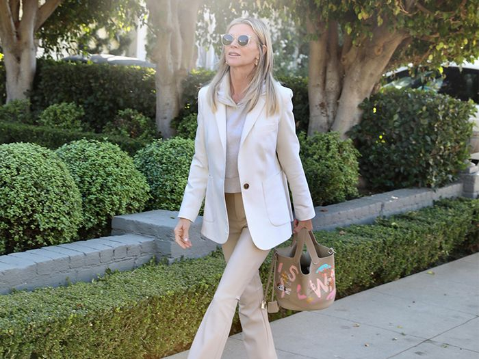 I'm 59, Live in L.A., and Consistently Wear These 5 Outfits With Sweatshirts