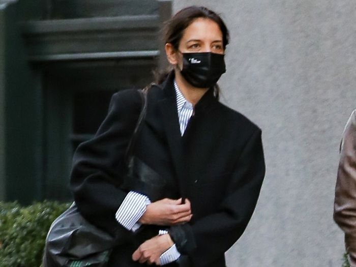Katie Holmes Wore the Season's Trendiest Skinny Jeans