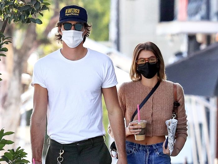 Kaia Gerber Wore the Cheap Face Mask Everyone Is Ordering on Amazon