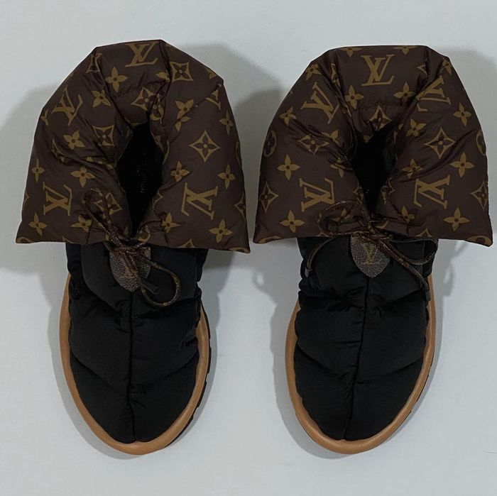 Louis Vuitton pillow boots