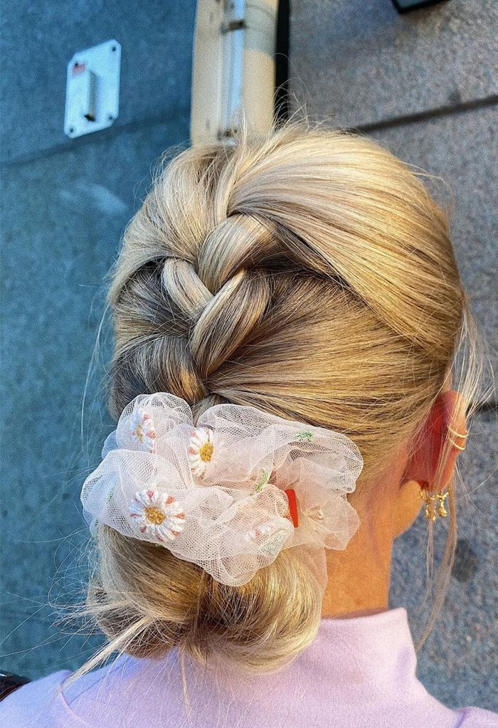 12 New Hair Accessories to Try in 2021: Organza Scrunchies