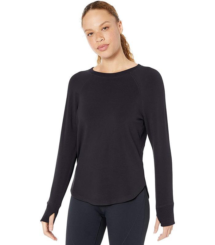 Core 10 Cloud Soft Yoga Fleece Long Sleeve Sweatshirt