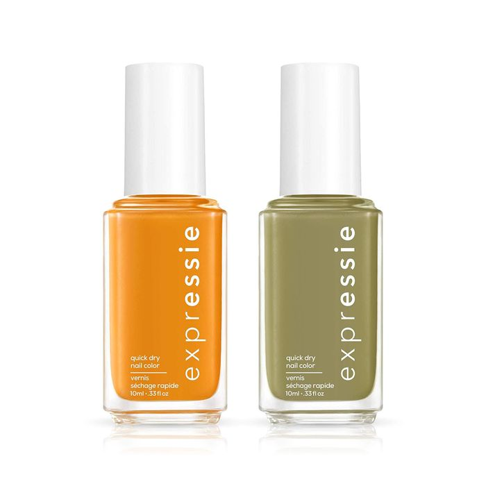 Essie Expressie Quick Dry Nail Polish Fall Color Set in Cargo-Go! and  Don't Hate, Curate