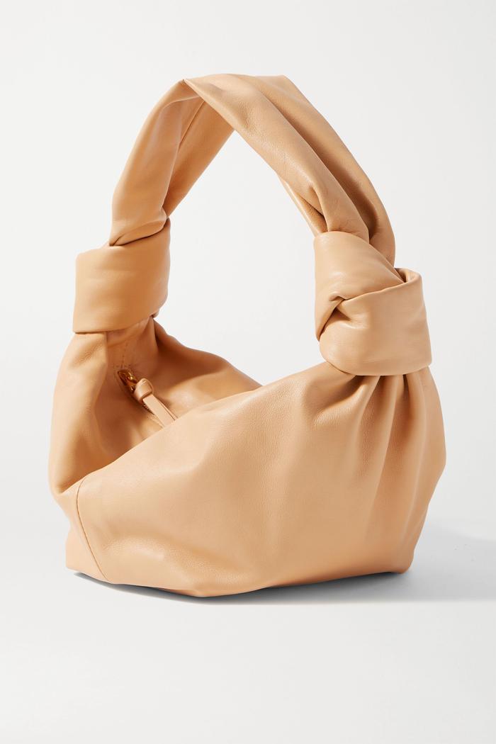 Bottega Veneta Jodie Mini Knotted Leather Tote