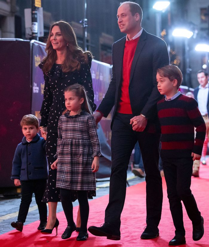 princess charlotte on the red carpet