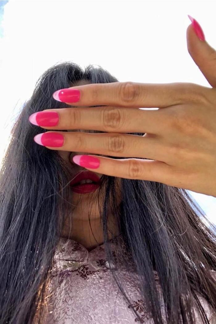 Nail Trends 2021: Pink nails