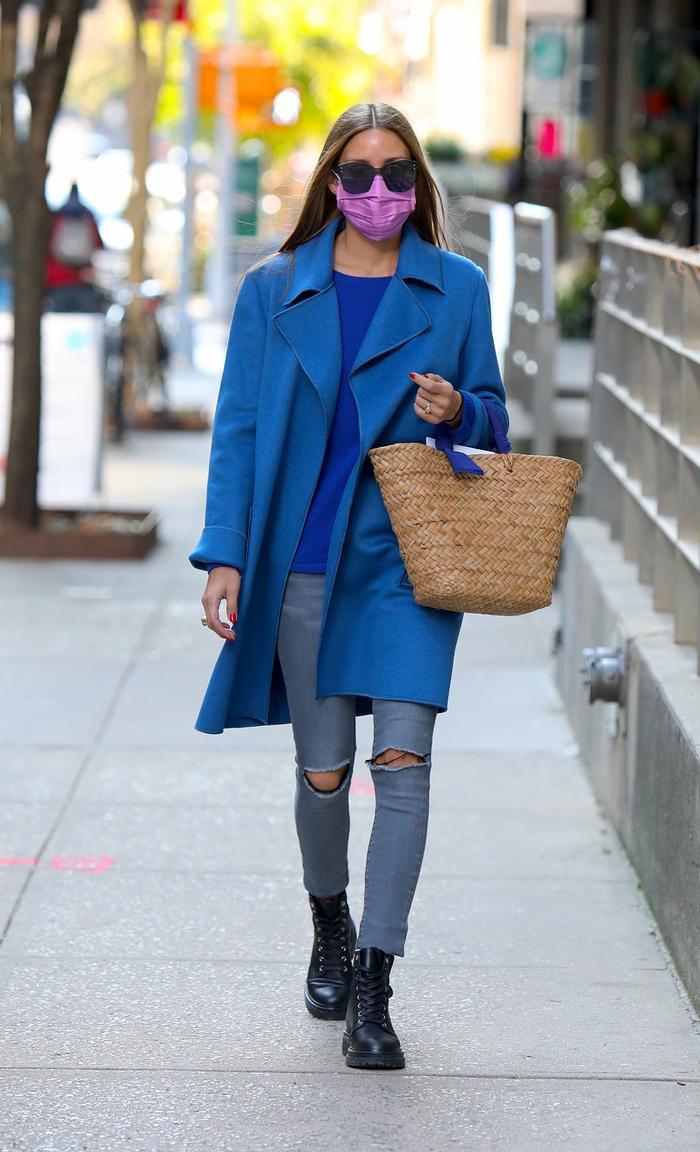 Olivia Palermo in skinny jeans