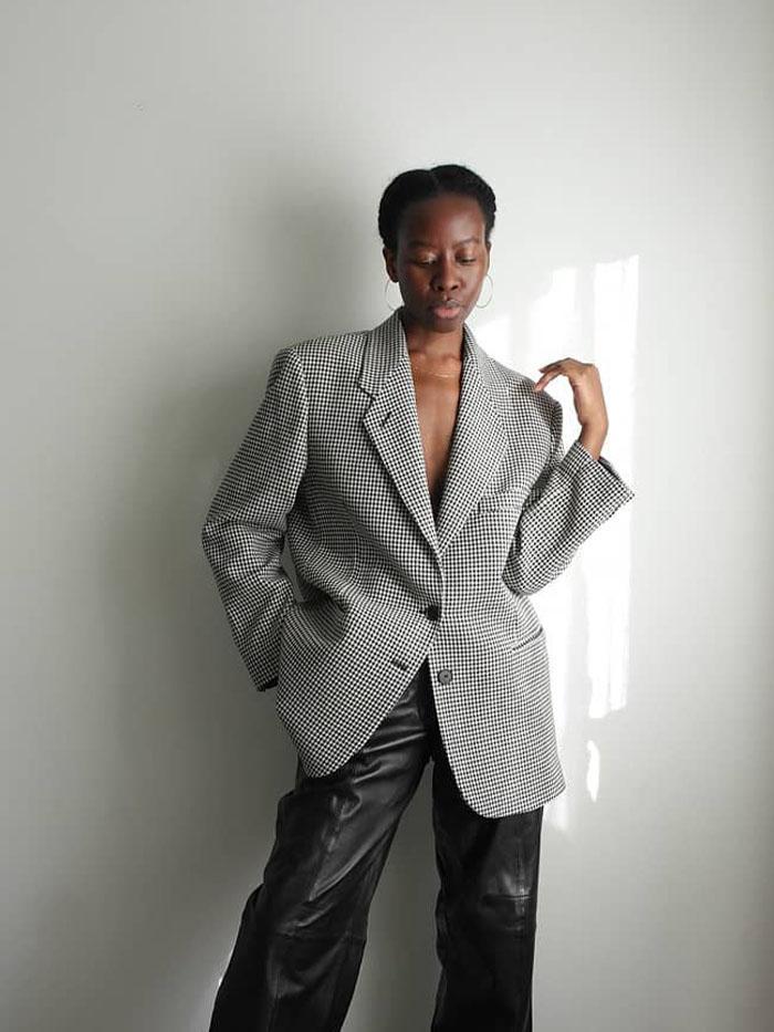 Trending Mango Items: Blazer + Leather Trousers