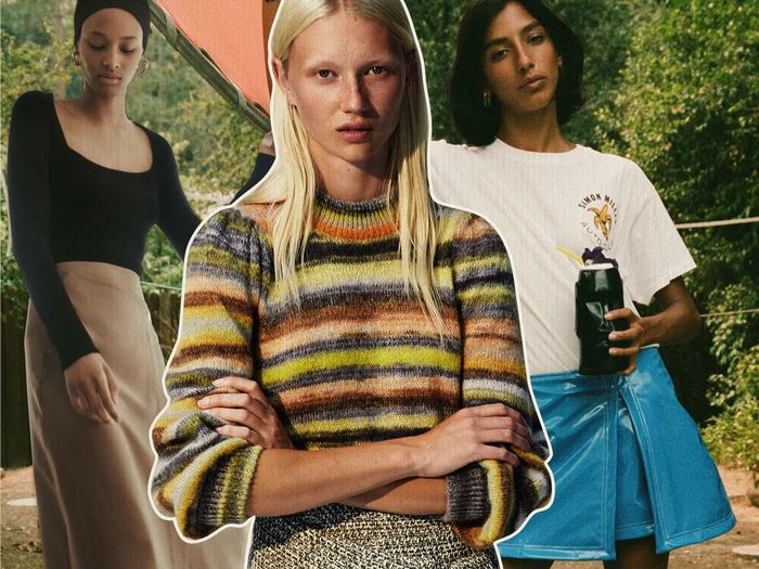 """The """"Basic"""" Skirt Trend That Is Somehow Both Timeless and Trendy"""
