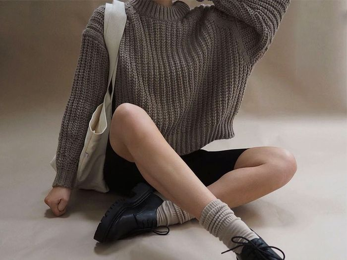6 Knitwear Outfits Fashion People Can't Stop and Won't Stop Wearing