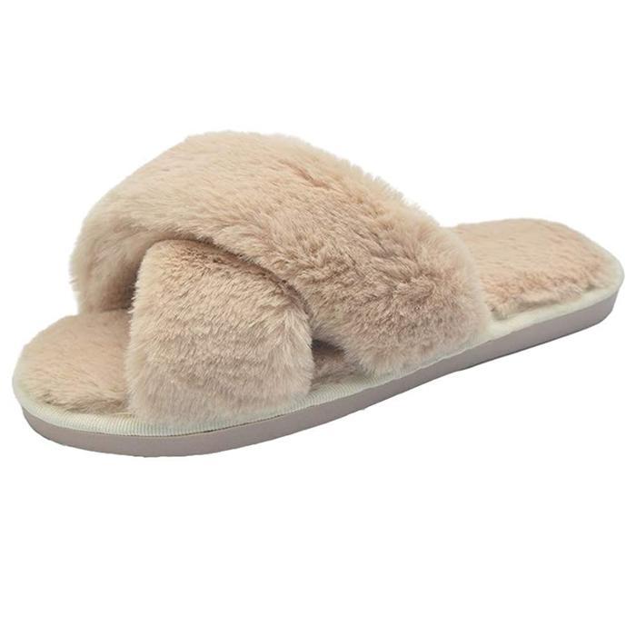 Humiwa Faux-Fur Slippers