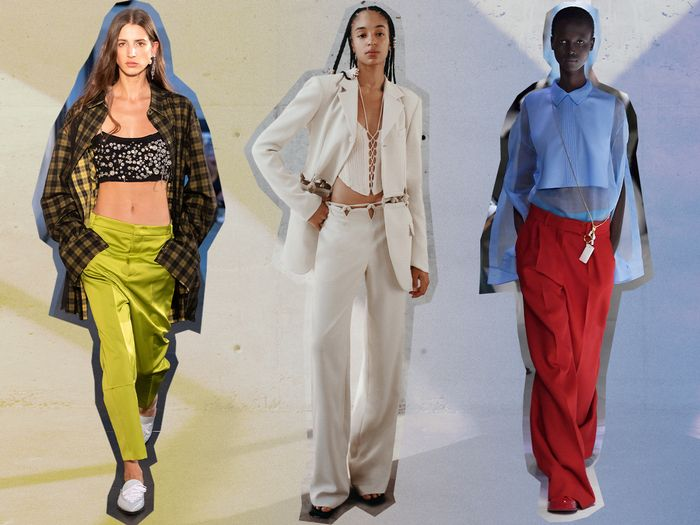 low-rise pant outfits
