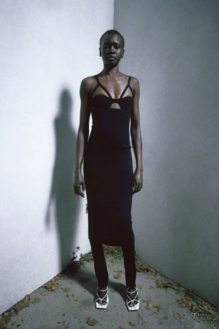 Sex and the City reboot: Khaite black dress