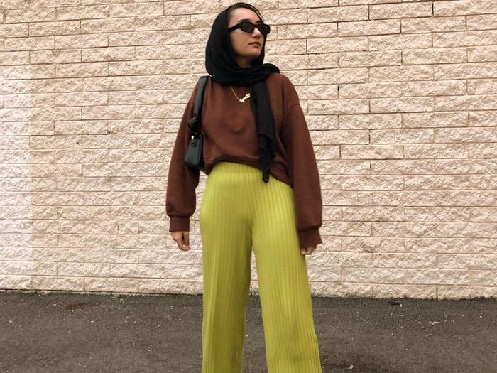 Sorry to All My Jeans—I'm Preferring These High-Waisted Wide-Leg Pants Instead