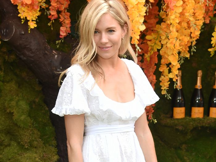 Sienna Miller Just Wore the Perfect Spring Dress—and It's Only £35