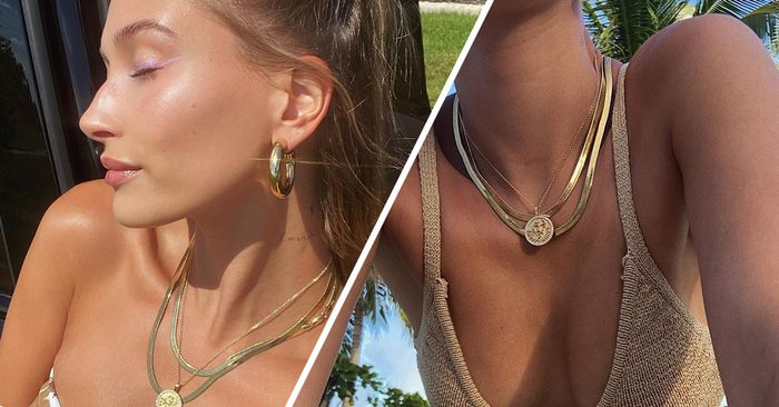 7 Hailey Bieber Jewelry Trends We'll All Wear in 2021 (and 7 She's Ignoring)