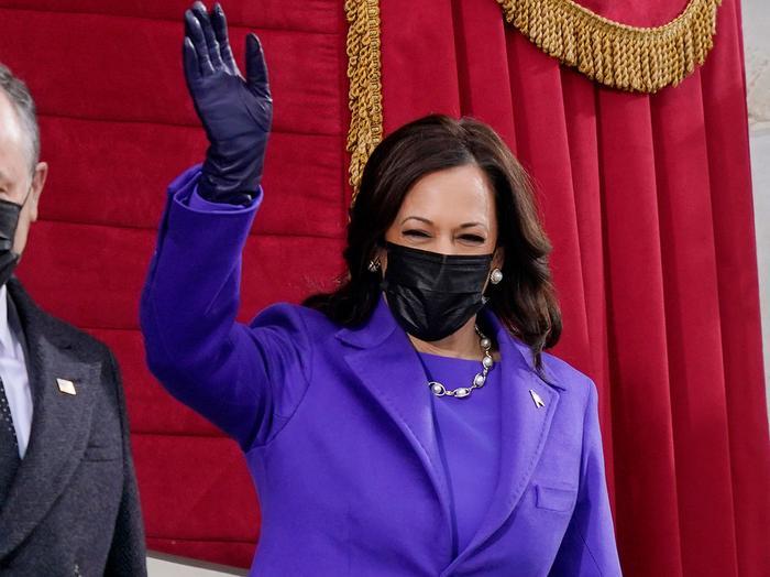 Kamala Harris Inauguration outfit designer