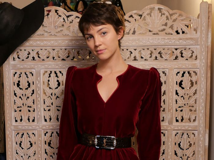 Ella Hunt Wore 10 Striking Looks to Promote Season 2 of Dickinson—See Them All