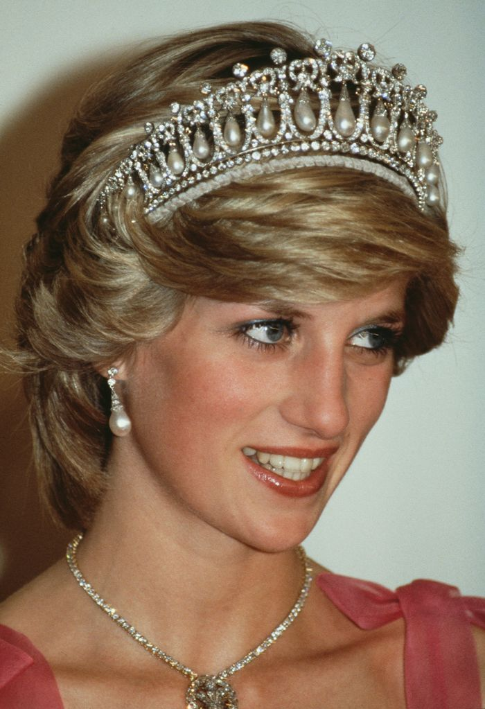 Princess Diana's Best Beauty Looks: Shimmery eye shadow