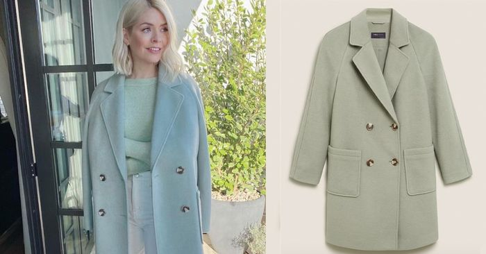 Holly Willoughby Just Wore An M&S Outfit In Our Favourite Spring Colour